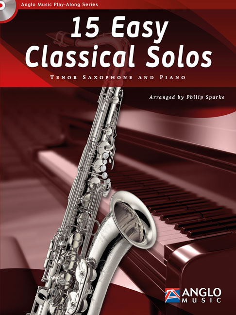 15 easy classical Solos (+CD): for tenor saxophone and piano