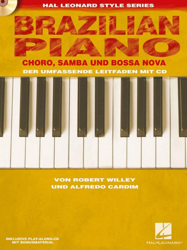 Brazilian Piano (+CD): für Klavier (dt)