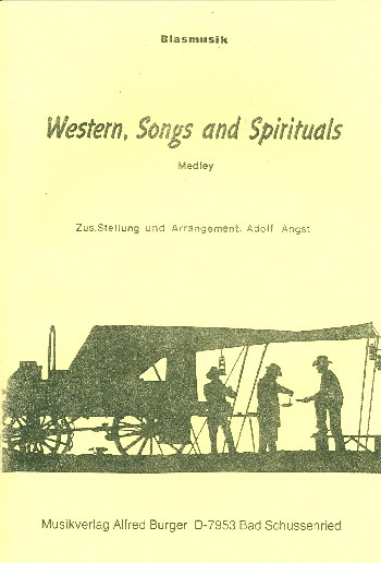 Western, Songs and Spirituals: für Blasorchester