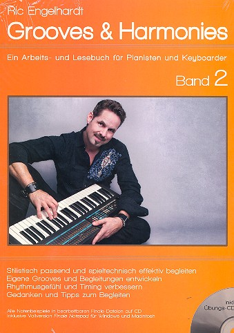 Grooves & Harmonies Band 2 (+CD-ROM): für Jazz-Klavier