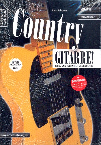 Country Gitarre (+Download)