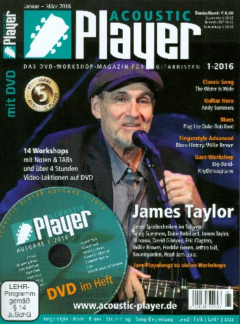 Acoustic Player 1/2016 (+DVD)