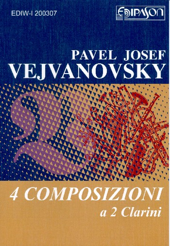 4 Composizioni: a 2 Clarini (Orgel ad libitum)