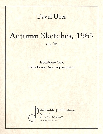 Autumn Sketches opus.56: for trombone and piano