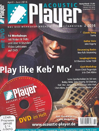 Acoustic Player 2/2016 (+DVD)