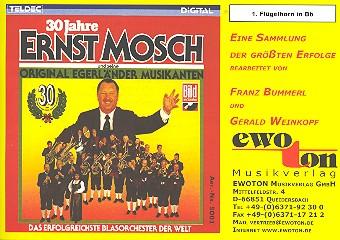 30 Jahre Ernst Mosch und seine Egerländer Musikanten: für Blasorchester