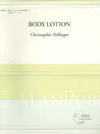 Body Lotion: for 4 body percussionnists
