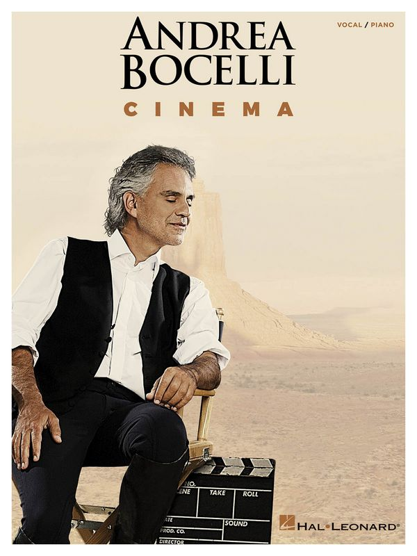 Andrea Bocelli: Cinema songbook/vocal/guitar