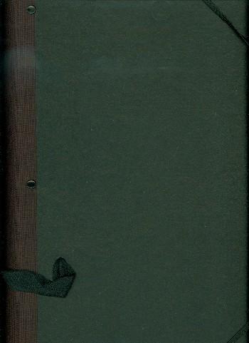 Chormappe Starfolder Classic 25x33cm schwarz, mit Scharnier, 10 Kordeln, Handschlaufe