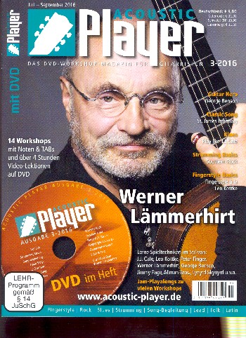 Acoustic Player 3/2016 (+DVD)