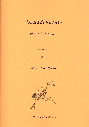 Sonate: für Fagott und Bc (Violoncello)