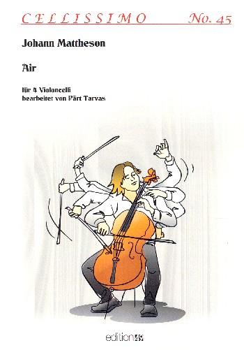 Air: für 4 Violoncelli