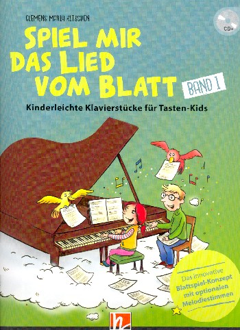 Kitschen, Clemens Maria - Spiel mir das Lied vom Blatt Band 1 (+CD-ROM/PDF) :