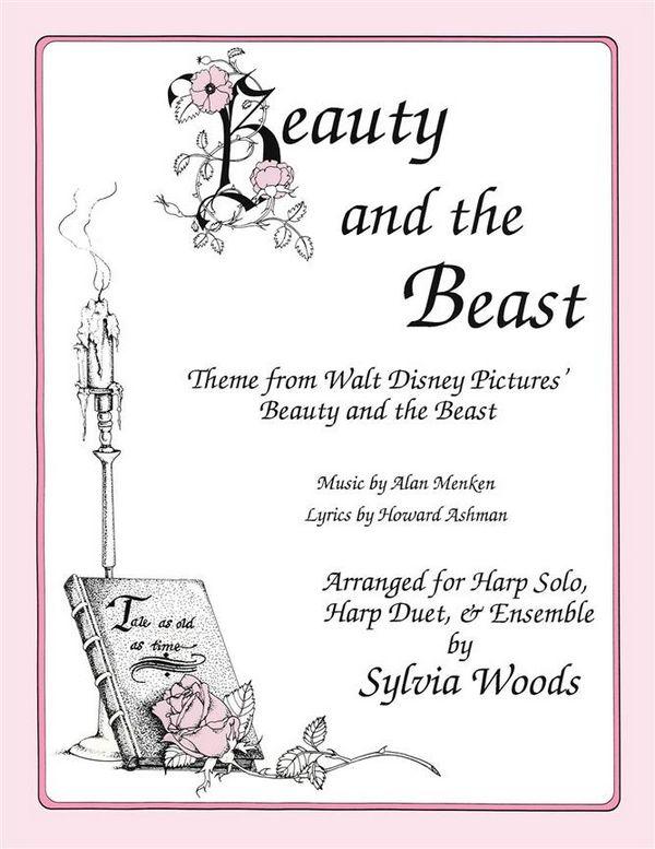 Beauty and the Beast (Main Theme): for 1-2 harps (voice and melody instrument ad lib)