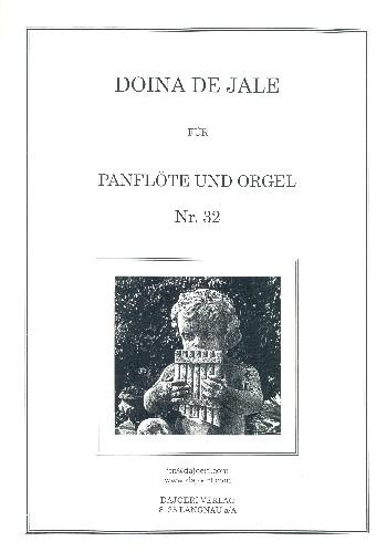 Doina De Jale: für Panflöte und Klavier
