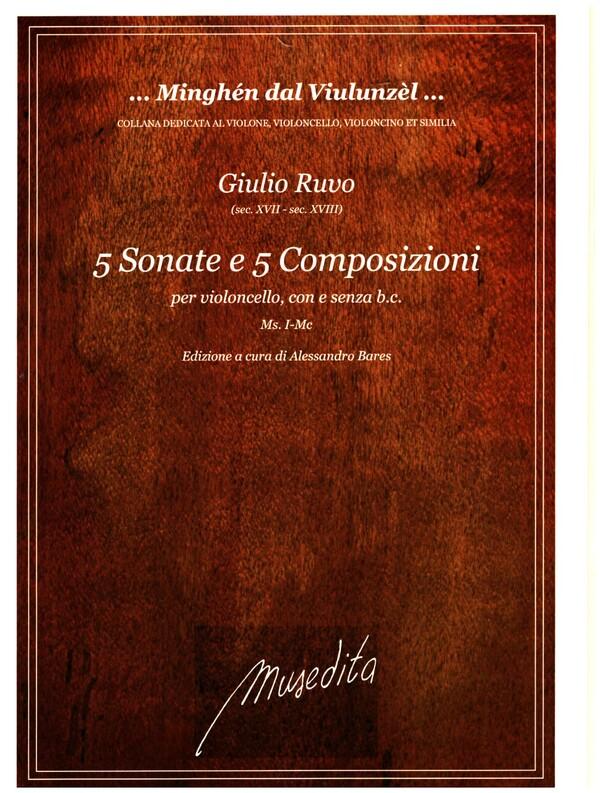 10 Composizioni: per violoncello con e senza Bc