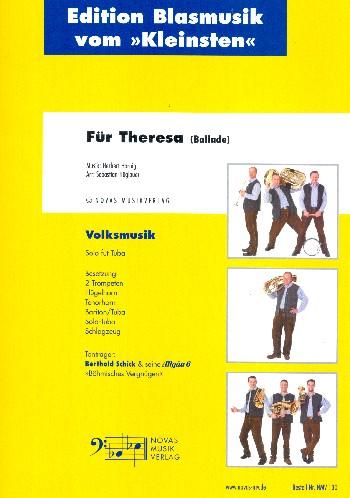 Für Theresa: für Tuba solo, 5 Blechbläser und Schlagzeug