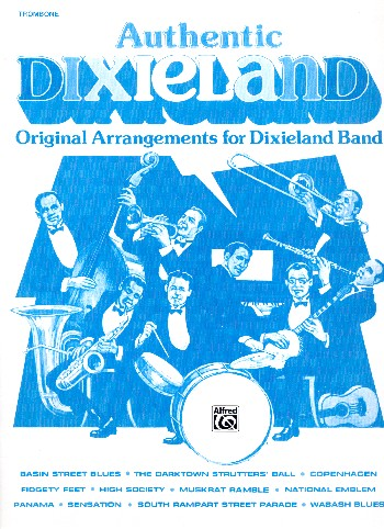Authentic Dixieland: for Dixieland band