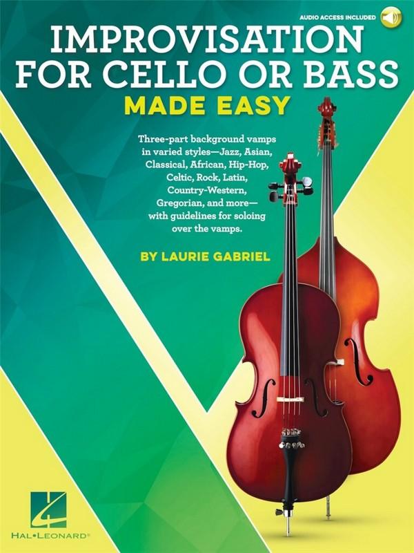 Improvisation made easy & (+Audio Access): for cello/bass