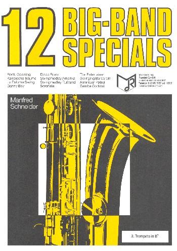 12 Big-Band Specials: für Blasorchester