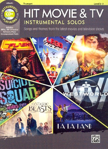 Hit Movie and TV Instrumental Solos (+MP3-CD): for trumpet