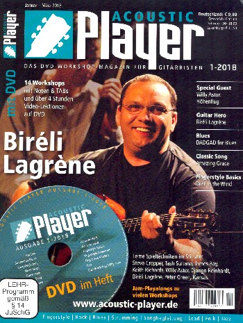 Acoustic Player 1/2018 (+DVD)