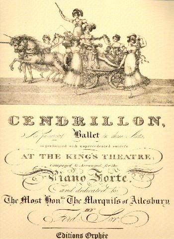 Cendrillon: for piano