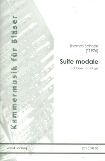 Suite modale: für Oboe und Orgel