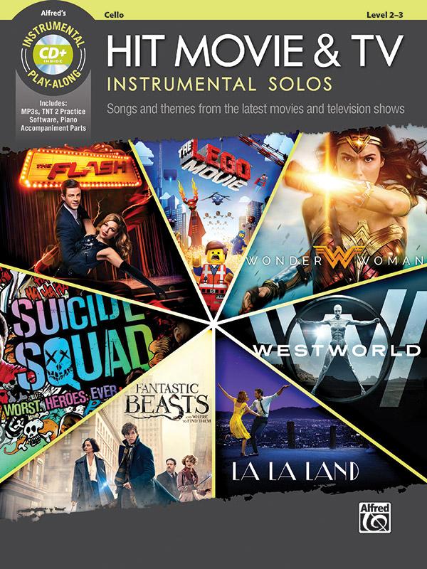 ALF46780 Hit Movie & TV Instrumental Solos (+MP3-CD): for cello