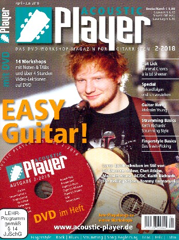 Acoustic Player 2/2018 (+DVD)