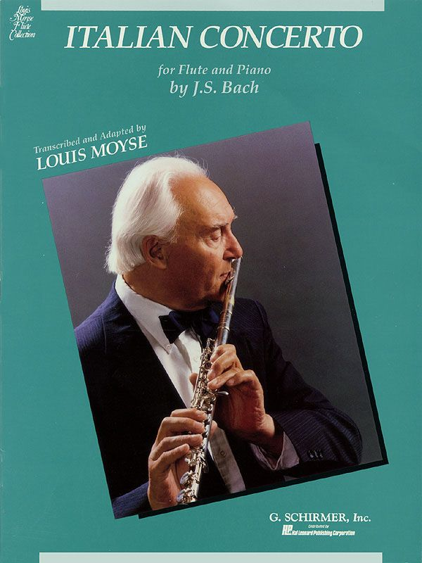 Italian Concerto BWV971: Konzert Flöte und Klavier for flute and piano