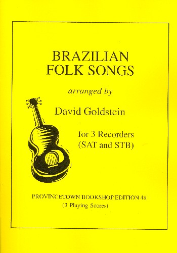 Brazilian Songs: for 3 recorders (SAT/STB)