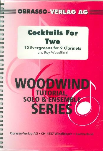 Cocktails for Two: für 2 Klarinetten