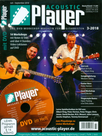 Acoustic Player 3/2018 (+DVD)