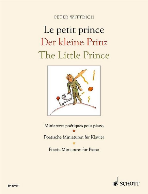 Der kleine Prinz: für Klavier