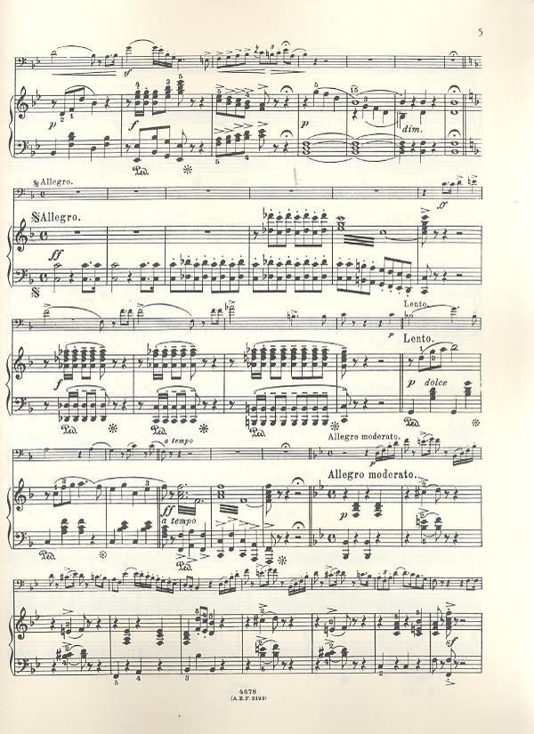 Berühmte Arie Ernst Noten für Posaune und Klavier 1069 Paudert