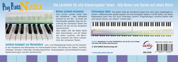 Play Piano Notes : - Vollanzeige.