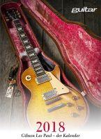 Guitar Gibson Les Paul Kalender 2018 - Vollanzeige.