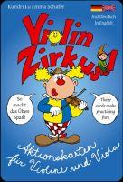 Violinzirkus : Aktionskarten für Violine und Viola (dt/en) - Vollanzeige.