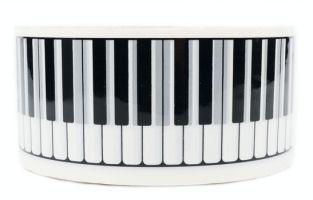 Klebeband Tastatur weiß ca. 66 Meter 5 cm breit - Vollanzeige.