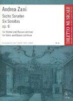 6 Sonaten op.6 : - Vollanzeige.