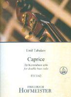 Caprice : für Kontrabass solo - Vollanzeige.