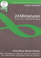 24 Miniaturen in allen Dur- und Moll-Tonarten : - Vollanzeige.