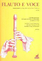 Flauto e voce Band 14 : - Vollanzeige.