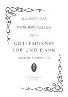 Instrumentaltrios Band 7 - Gottesdienst, Lob und Dank : - Vollanzeige.