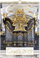 Kalender Die schönsten Orgeln 2019 - Vollanzeige.