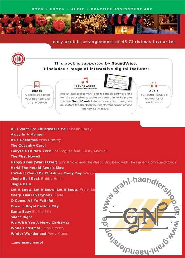 Oh Tannenbaum Gitarrennoten.Bumper Christmas Book Soundcheck For Really Easy Ukulele Melody