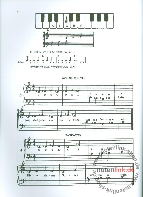 Aaron, Michael - Klavierschule Band 1 (blau)