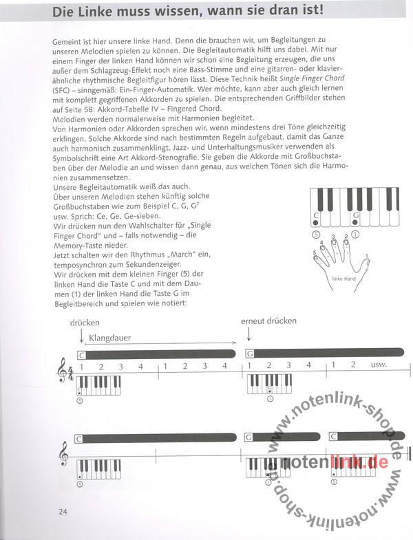Benthien, Axel - Der neue Weg zum Keyboardspiel Band 1