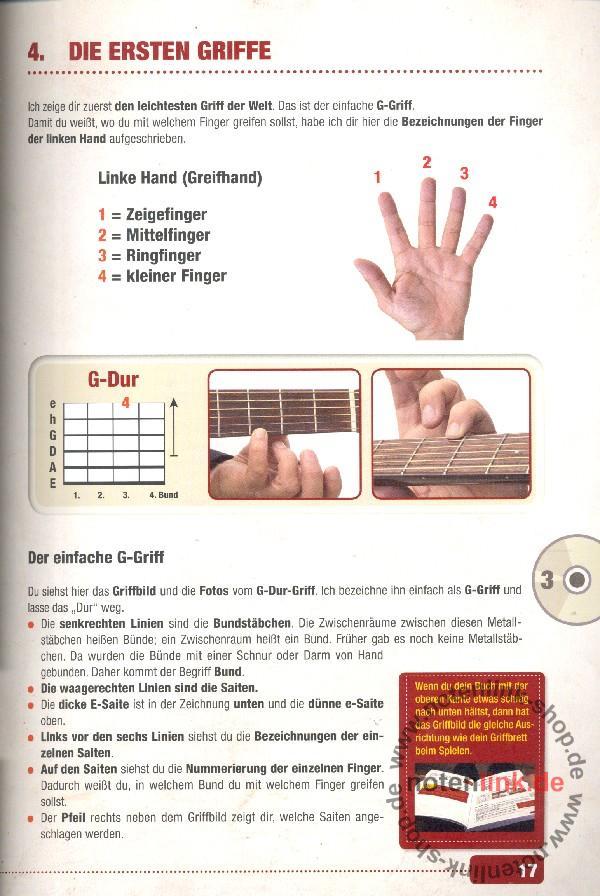 Bursch, Peter - Gitarrenbuch Band 1 (+DVD +CD)
